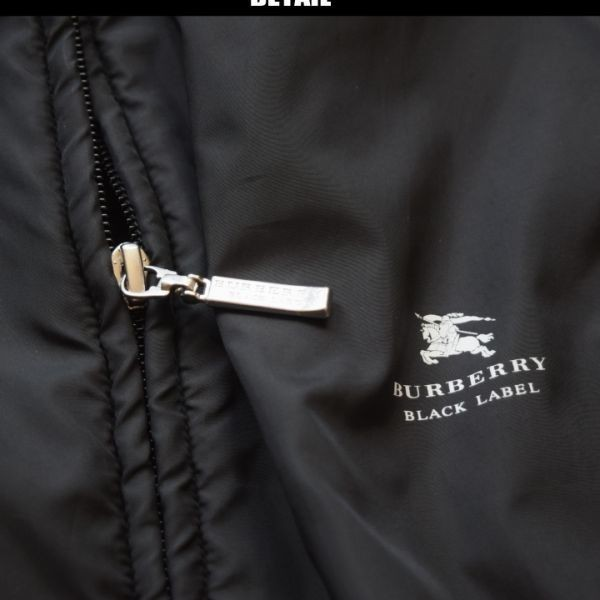 ■バーバリーブラックレーベル(BURBERRY)■超美品 ホースマン刺繍 ナイロントラックブルゾン 2/M_画像2