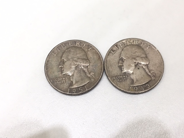 【A191B】外国銭 アメリカ ドル 米ドル カナダ おまとめ 1ドル銀貨 50セント 25セント など 銀貨あり 外貨 コイン_画像6