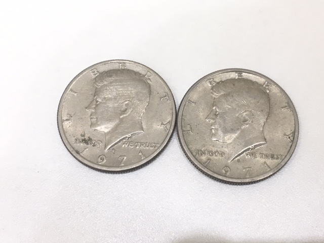 【A191B】外国銭 アメリカ ドル 米ドル カナダ おまとめ 1ドル銀貨 50セント 25セント など 銀貨あり 外貨 コイン_画像4