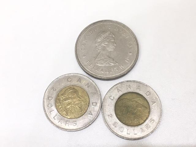 【A191B】外国銭 アメリカ ドル 米ドル カナダ おまとめ 1ドル銀貨 50セント 25セント など 銀貨あり 外貨 コイン_画像8