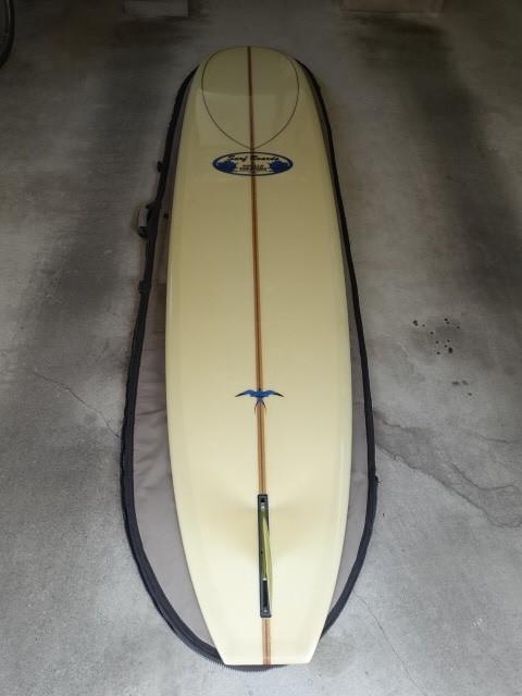 Donald Takayakma ドナルド タカヤマ 本人シェープ品 Model T 283cm位 HPD Hawaiian Pro Designs ハワイアンプロデザイン モデルT_画像2