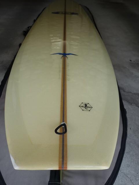 Donald Takayakma ドナルド タカヤマ 本人シェープ品 Model T 283cm位 HPD Hawaiian Pro Designs ハワイアンプロデザイン モデルT_画像4