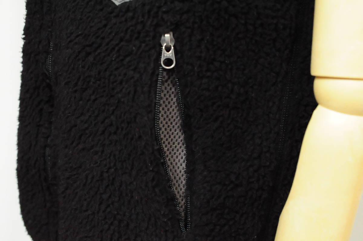 ◆1円~ patagonia パタゴニア レトロベスト RetroX ブラック 黒 MENS S 日本M位/887 クラシックレトロカーディガン Tシャツ_画像8