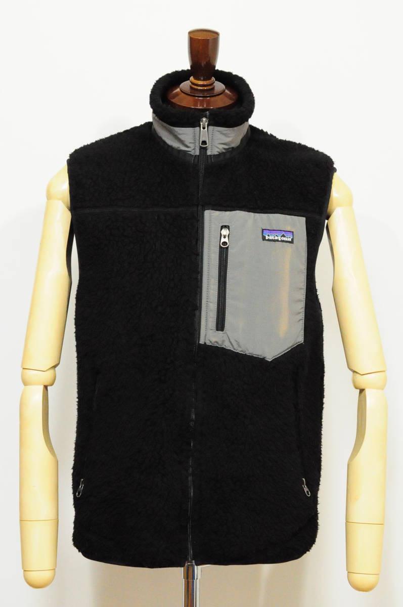◆1円~ patagonia パタゴニア レトロベスト RetroX ブラック 黒 MENS S 日本M位/887 クラシックレトロカーディガン Tシャツ