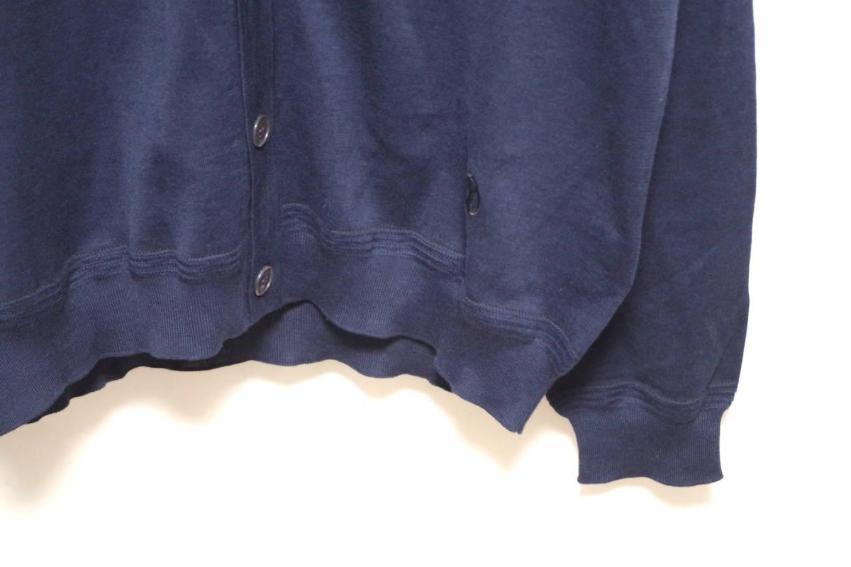 17SS LOUIS VUITTON ルイヴィトン Vネック カーディガン ネイビーXL サークルロゴ LV チャップマンブラザーズ ダミエ Tシャツ モノグラム_画像8