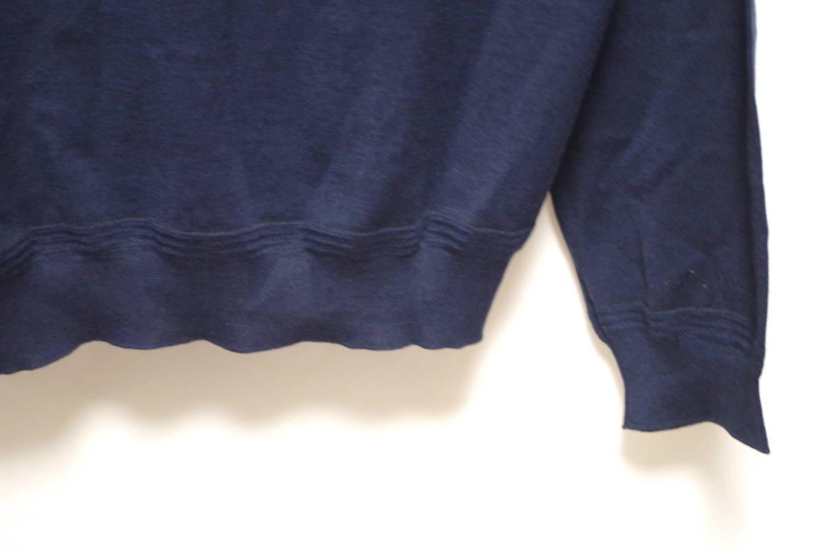 17SS LOUIS VUITTON ルイヴィトン Vネック カーディガン ネイビーXL サークルロゴ LV チャップマンブラザーズ ダミエ Tシャツ モノグラム_画像6