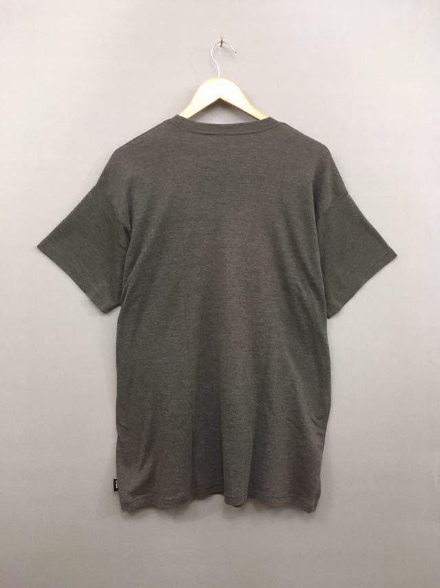 &4-11 フィラ FILA 半袖Tシャツ メンズ LLサイズ 大きめ ビッグロゴ グレー スポーツ系_画像2