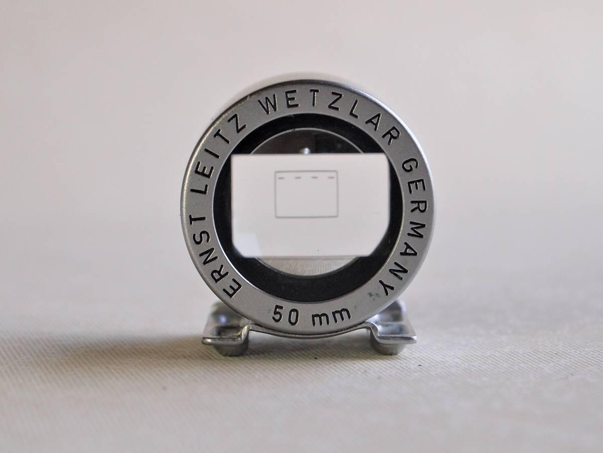 ライカ 50mm ビュー ファインダー(SBOOI)美品 ケース付き_画像3