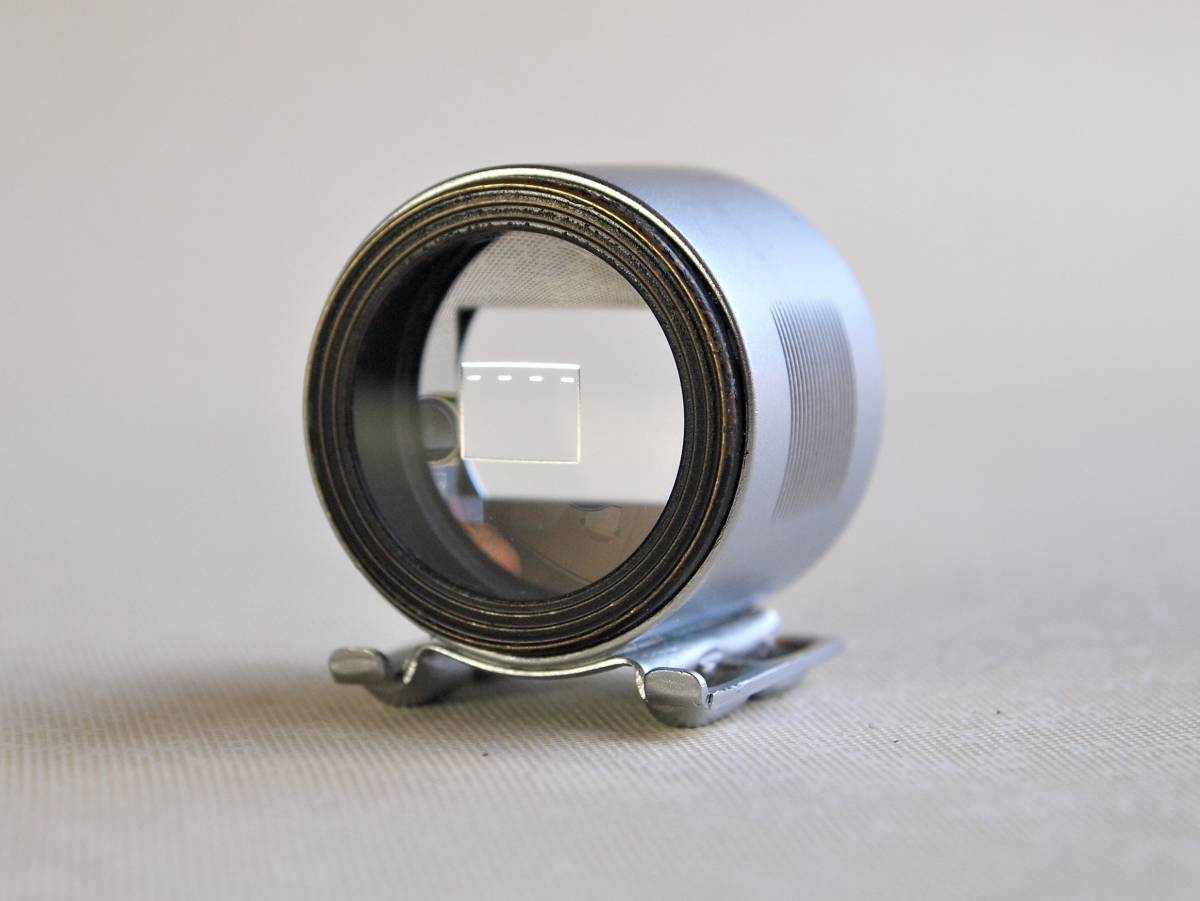 ライカ 50mm ビュー ファインダー(SBOOI)美品 ケース付き_画像4