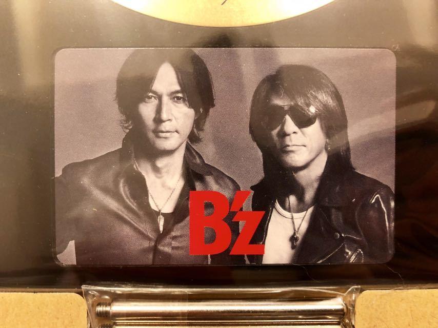 B'z 30周年記念盾 ファンクラブ限定_画像3