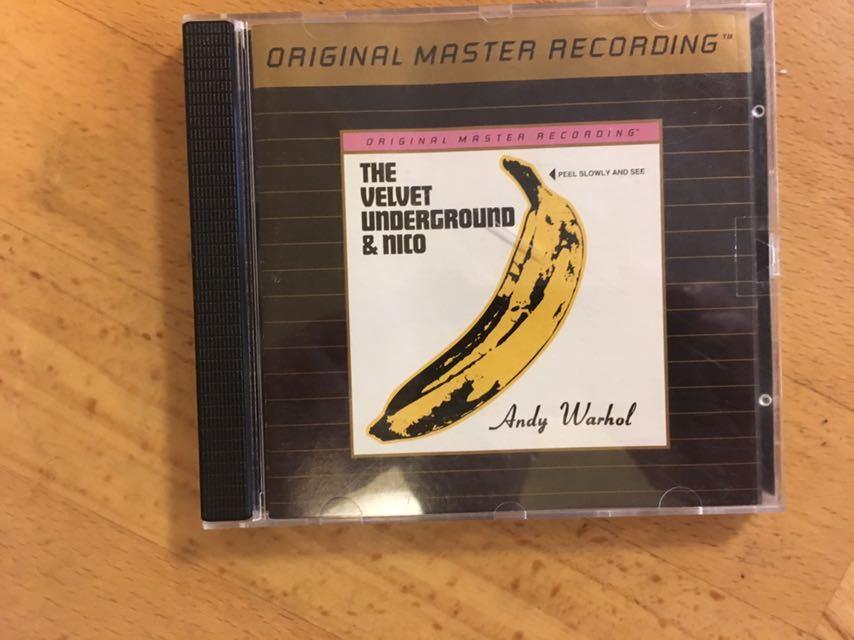 The Velvet Underground & Nico (MFSL 24kt Gold CD) Mobile Fidelity Sound Lab UDCD 695_画像1