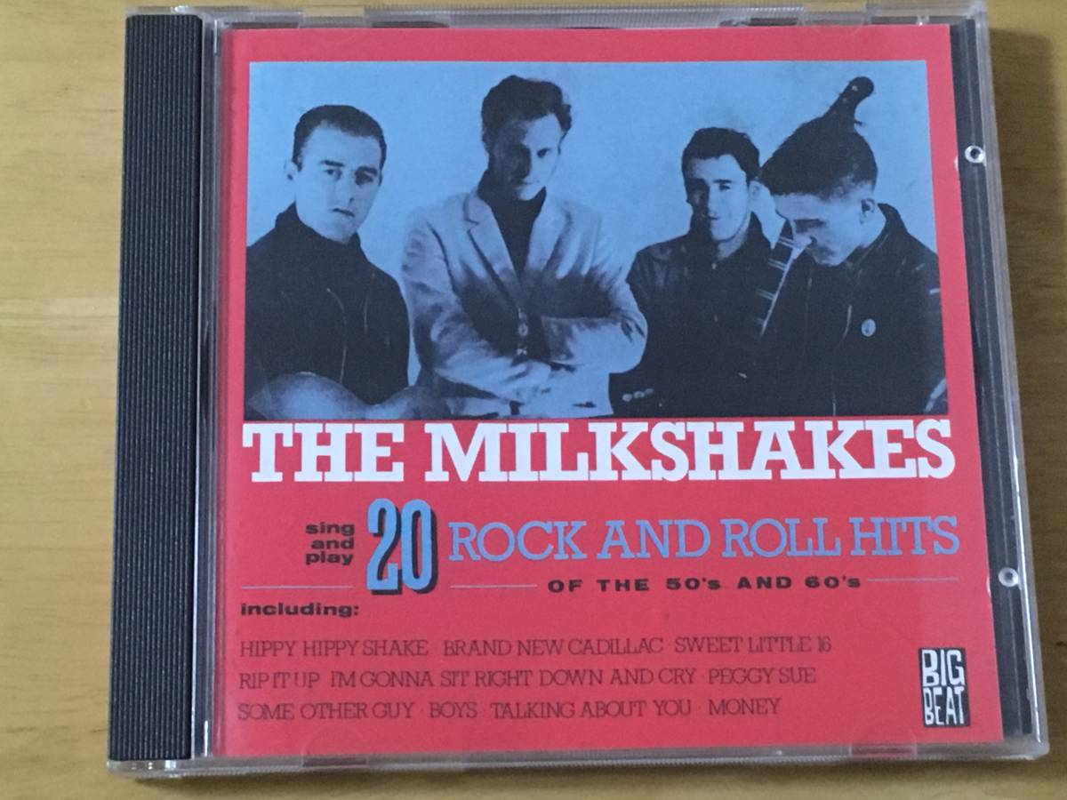 The Milkshakes 20 Rock and Roll Hits 輸入盤CD 検:ミルクシェイクス Thee Headcoats Billy Childish garage punk R&R pub rock_画像1