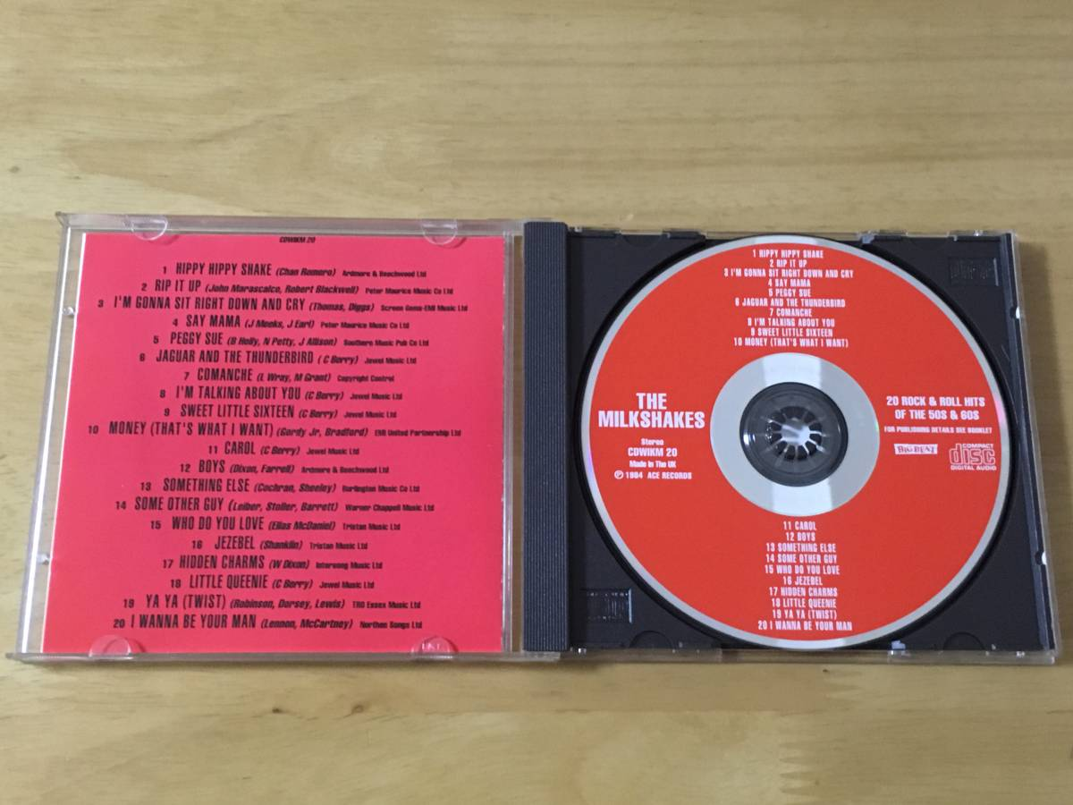The Milkshakes 20 Rock and Roll Hits 輸入盤CD 検:ミルクシェイクス Thee Headcoats Billy Childish garage punk R&R pub rock_画像3