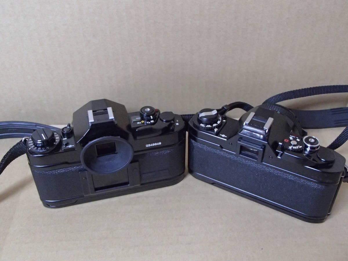 ★☆【美品】canon/キャノン カメラ A-1 AV-1 レンズシグマ製75-200mm canon FD 50mm1:2 50mm1:1.8 ストロボ等セット品多数☆★_画像4