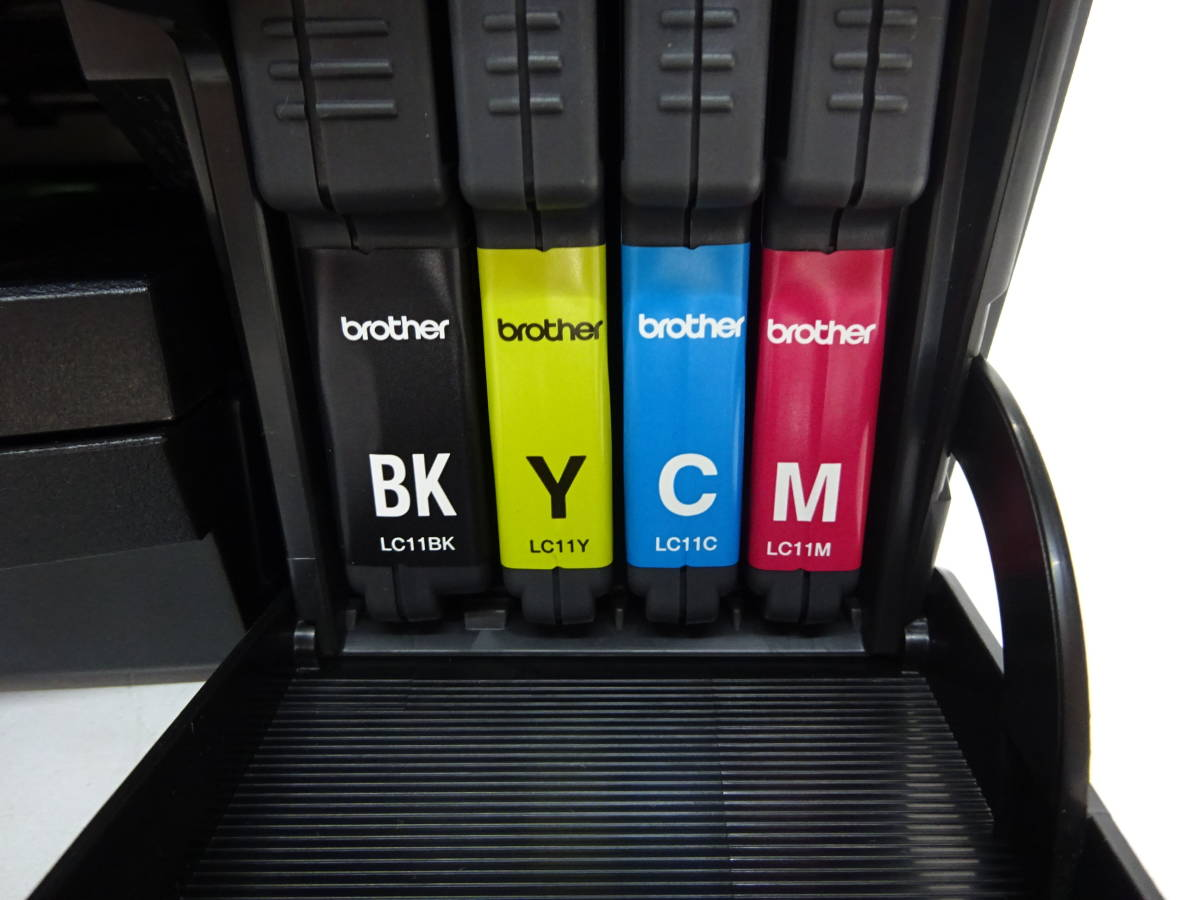 【Y91】 brother ブラザー 複合機 DCP-J515N MyMio 印字枚数651枚 通電確認済み カラー コピー 無線 プリンタ インクジェットプリンター_画像7