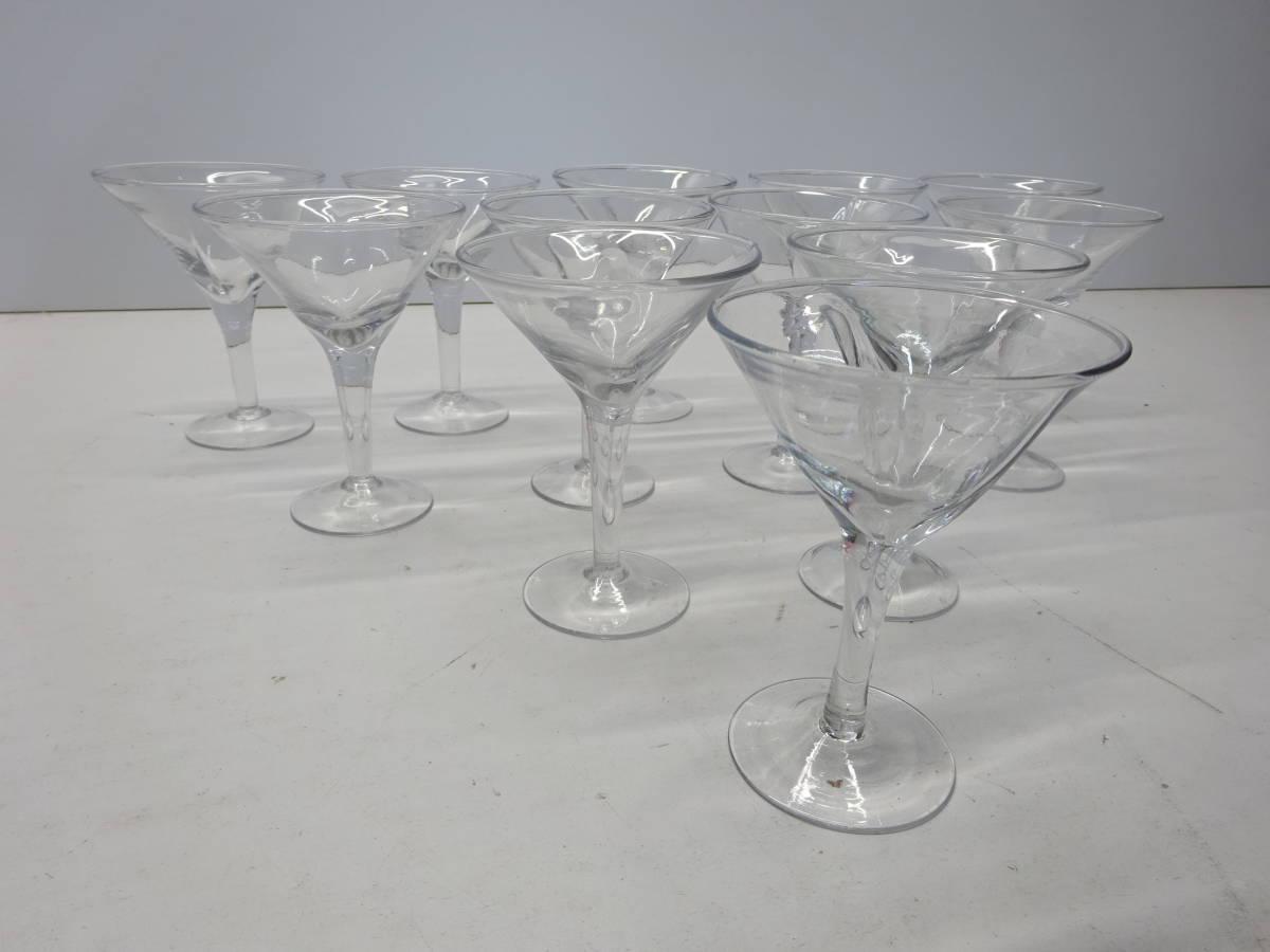 【Y06】 グラス 12客 食前酒 酒器 カクテルにも☆ ハート型 結婚式 パーティーに 飲食店 業者様向け
