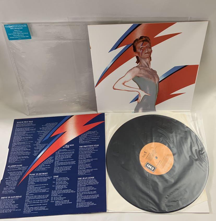 送料無料David Bowie Aladdin SaneレコードThe Millennium Vinyl Collection3枚Changes One Bowie魅せられし変容best ofデビッドボウイ_画像10