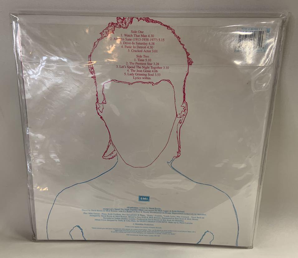 送料無料David Bowie Aladdin SaneレコードThe Millennium Vinyl Collection3枚Changes One Bowie魅せられし変容best ofデビッドボウイ_画像9