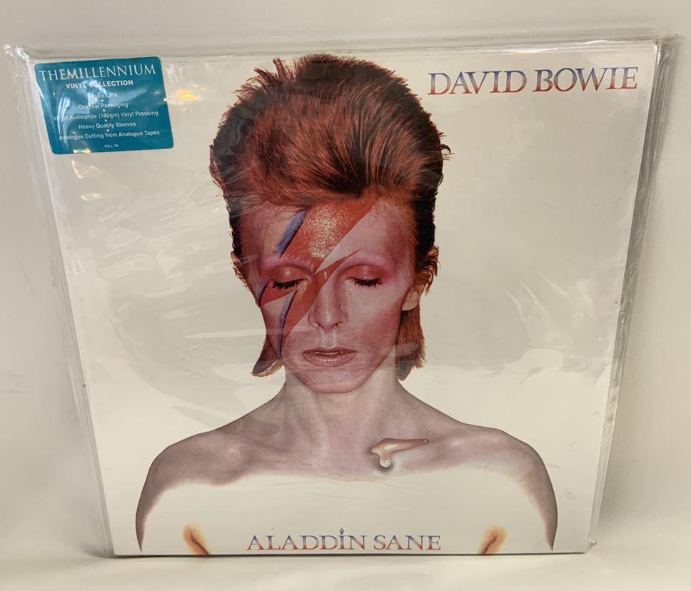送料無料David Bowie Aladdin SaneレコードThe Millennium Vinyl Collection3枚Changes One Bowie魅せられし変容best ofデビッドボウイ_画像8