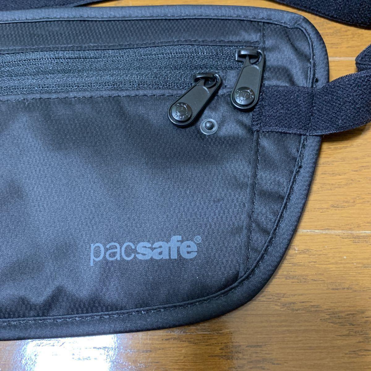 パックセーフ セキュリティポーチ シークレットベルト 旅行用品 防犯用品_画像2