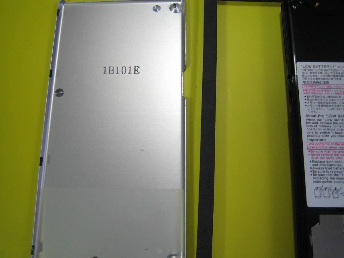 カシオ CASIO  FX-603P  中古 電池交換済み ジャンク扱い品 返品不可_画像6