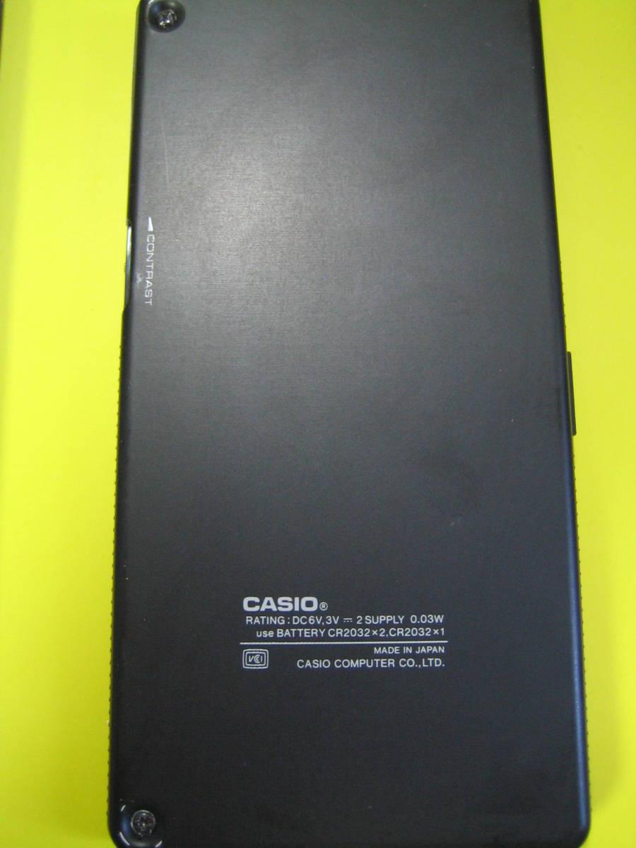 カシオ CASIO  FX-603P  中古 電池交換済み ジャンク扱い品 返品不可_画像3