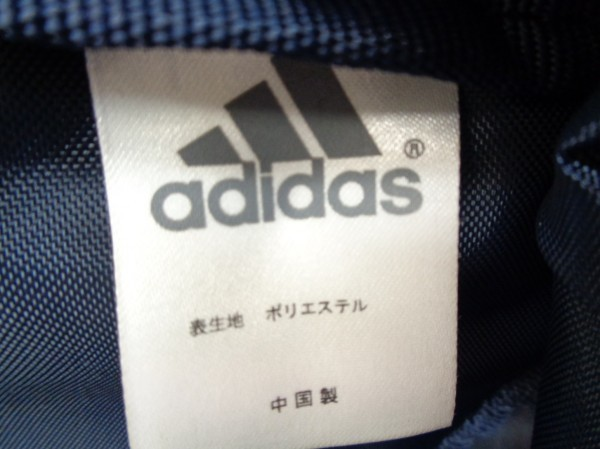 BR/No.5061 adidas ナイロンリュック バックパック ネイビー キッズ 男の子_画像5