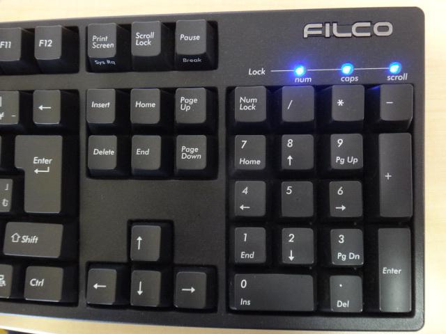 [中古・送料無料]FILCO フィルコ Majestouch2 FILCKF15 USBキーボード_画像3