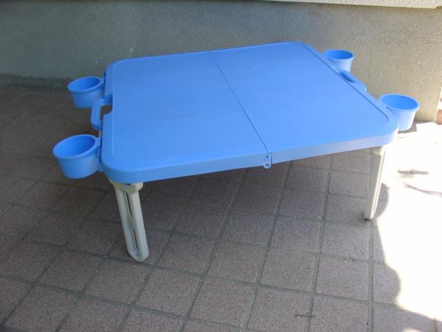 コールマン  アルミピクニックテーブル と不明ミニテーブル_画像10