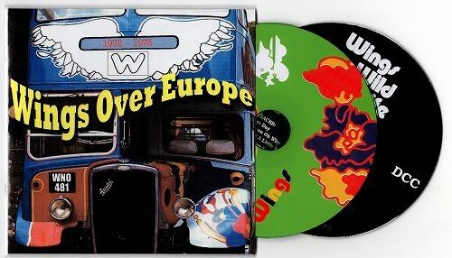 ★ WINGS OVER EUROPE 1971 - 1973 紙ジャケ 2CD ★ ボーナス DCC WILD LIFE入