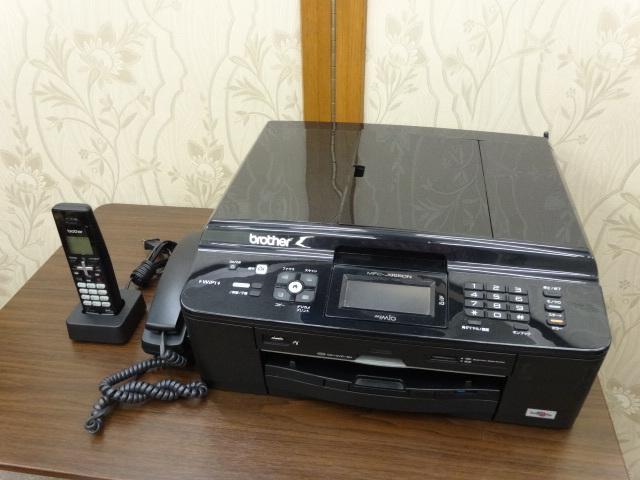 ブラザー brother 「 MyMio マイミオ 」 電話機 FAX 複合機 A4 無線LAN搭載 インクジェット 子機1台 MFC-J955DN 新品インク多数付_画像2