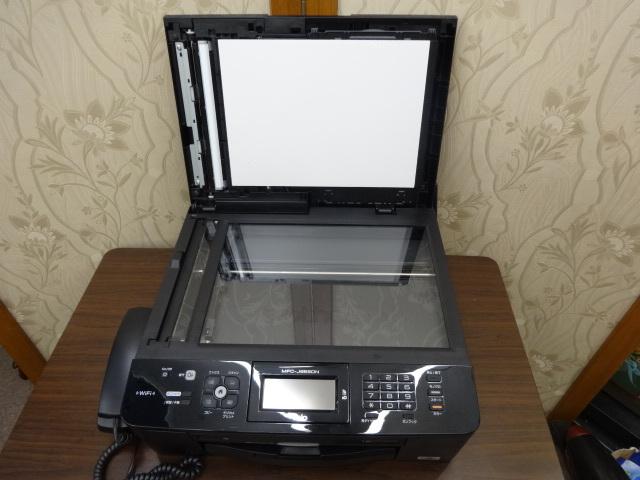 ブラザー brother 「 MyMio マイミオ 」 電話機 FAX 複合機 A4 無線LAN搭載 インクジェット 子機1台 MFC-J955DN 新品インク多数付_画像4