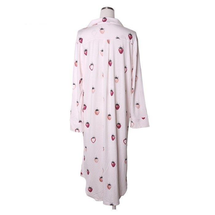 新品 ジェラートピケ×PEANUTS ストロベリー ドレス ワンピース ピンク _画像4