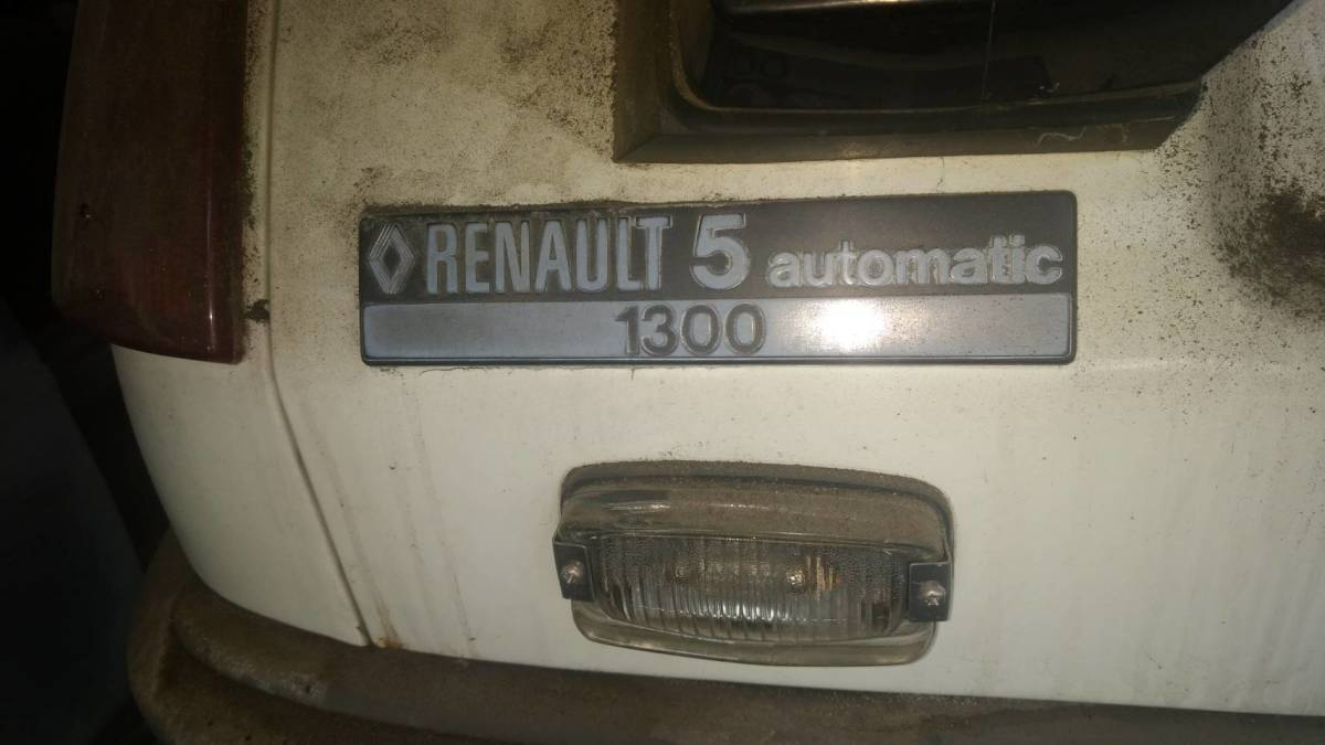 Renault 1300 document equipped