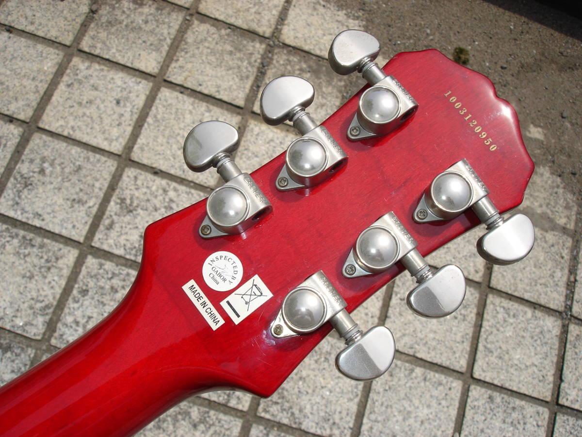 シリアルナンバーから 2010 年製のギター。