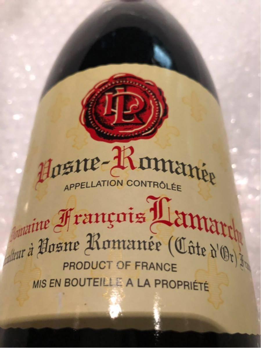 フランソワ ラマルシュ 2009 ヴーヌ ロマネ 750ml 赤ワイン_画像2