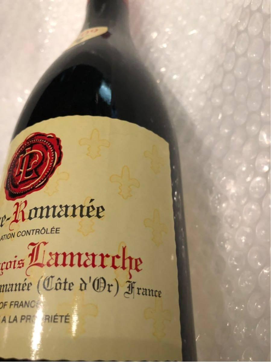 フランソワ ラマルシュ 2009 ヴーヌ ロマネ 750ml 赤ワイン_画像4
