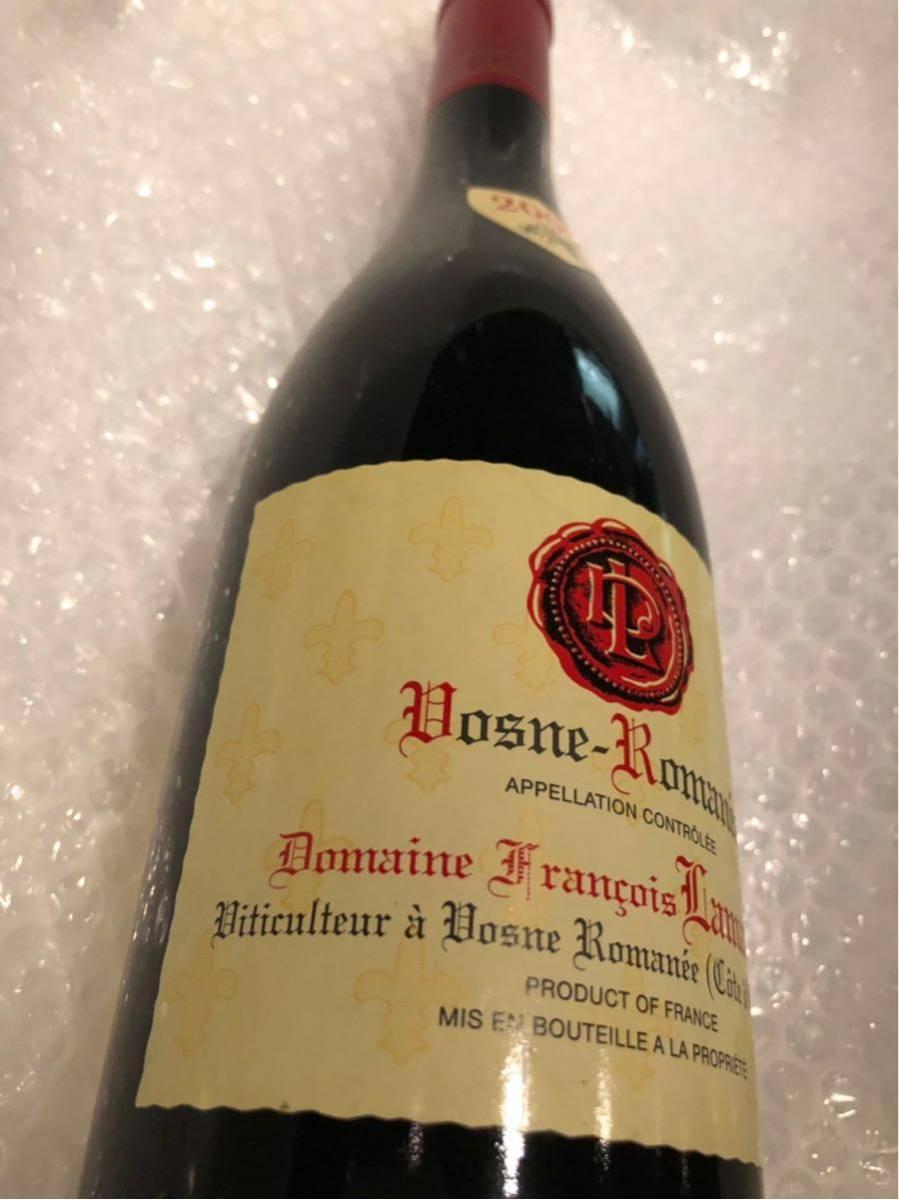 フランソワ ラマルシュ 2009 ヴーヌ ロマネ 750ml 赤ワイン_画像3