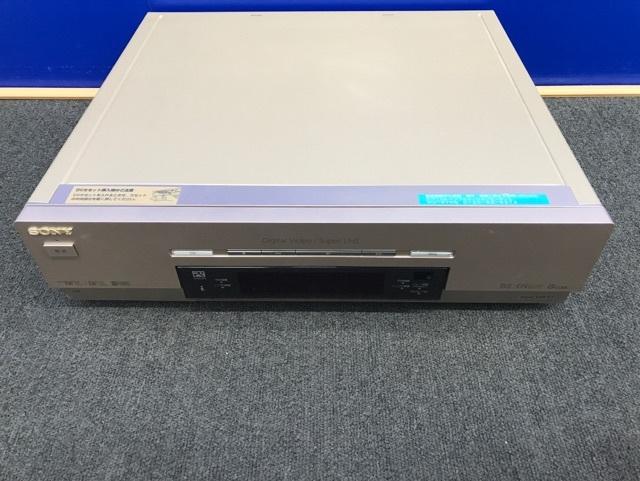 SONY miniDV DV VHS ダブルデッキ WV-DR7 ジャンク_画像2