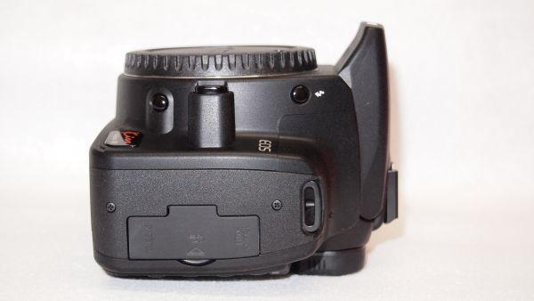 キヤノン/Canon EOS Kiss デジタル N レンズキット ブラック KISSDNB-LKIT 難あり_画像9