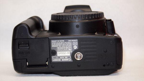 キヤノン/Canon EOS Kiss デジタル N レンズキット ブラック KISSDNB-LKIT 難あり_画像7