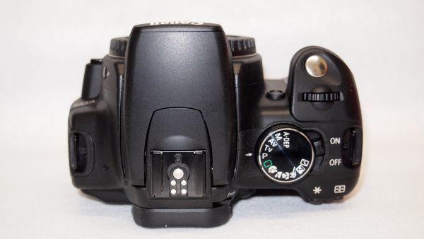 キヤノン/Canon EOS Kiss デジタル N レンズキット ブラック KISSDNB-LKIT 難あり_画像6