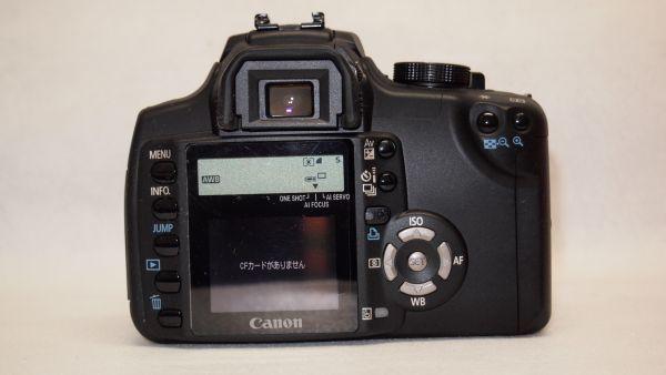 キヤノン/Canon EOS Kiss デジタル N レンズキット ブラック KISSDNB-LKIT 難あり_画像5