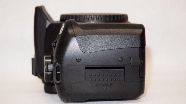 キヤノン/Canon EOS Kiss デジタル N レンズキット ブラック KISSDNB-LKIT 難あり_画像8
