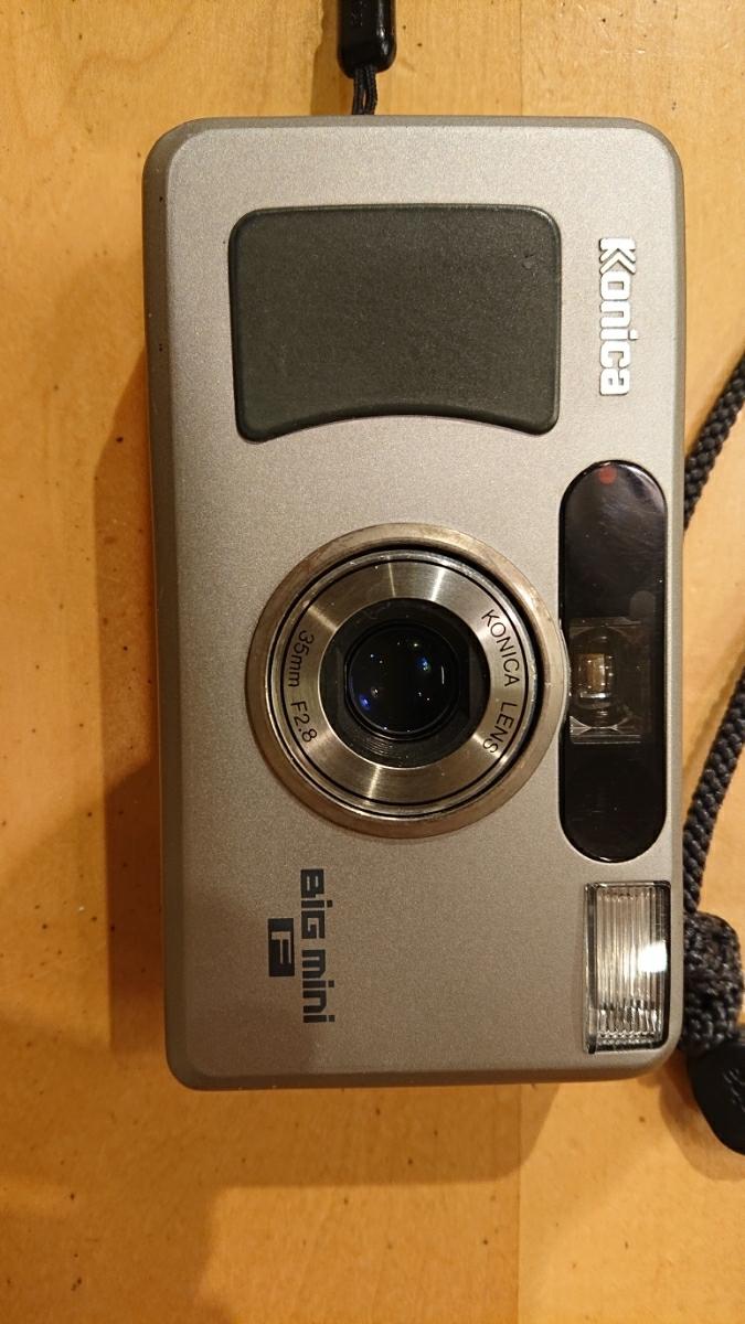 Konica コニカ BIG mini F 35mm F2.8 コンパクトフィルムカメラ_画像2