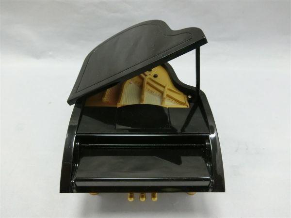 自動演奏グランドピアノ ミニチュア 6曲入り サンタルチア メヌエット等 未使用/AY0403-1854_画像2