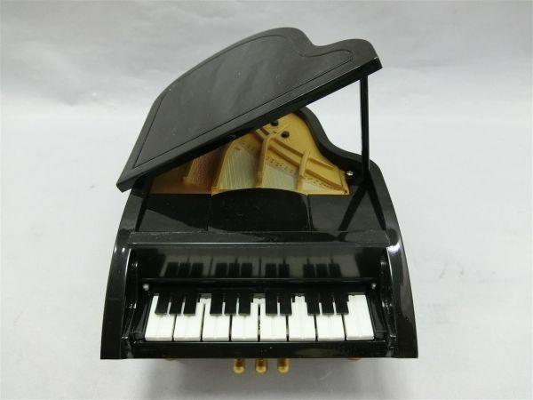 自動演奏グランドピアノ ミニチュア 6曲入り サンタルチア メヌエット等 未使用/AY0403-1854_画像3
