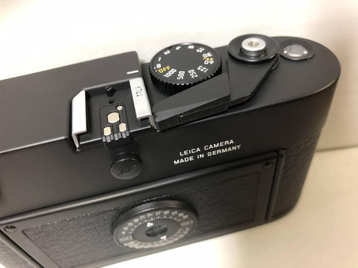 1円~ 極美品 LEICA ライカ M6TTL 0.85 BLACK 黒 _画像5