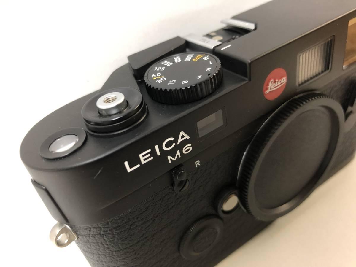 1円~ 極美品 LEICA ライカ M6TTL 0.85 BLACK 黒 _画像2