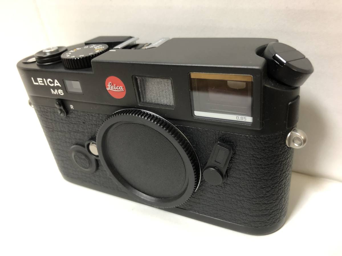 1円~ 極美品 LEICA ライカ M6TTL 0.85 BLACK 黒 _画像3
